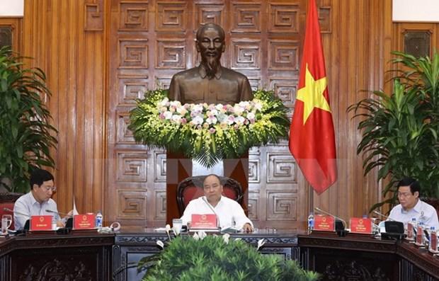 Le Premier ministre demande d'accelerer le decaissement des APD hinh anh 1