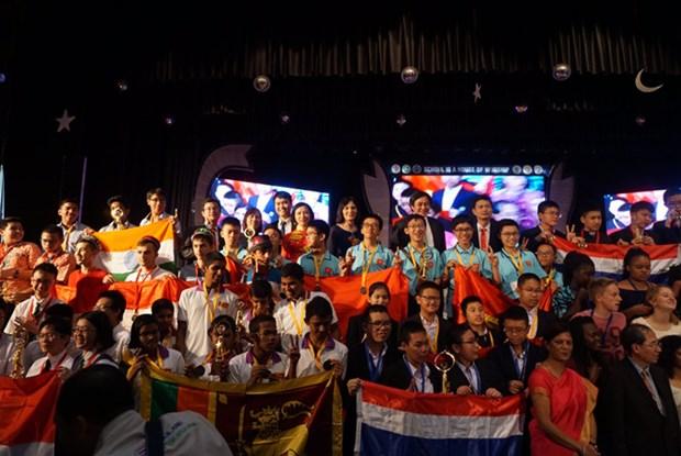 Le Vietnam medaille d'or lors du Concours international des mathematiques 2017 en Inde hinh anh 1