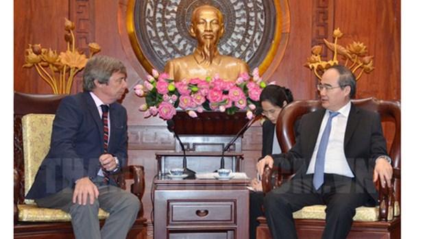 HCM-Ville souhaite renforcer sa cooperation avec le Danemark et l'Argentine hinh anh 2