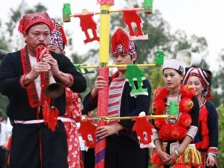 Preparatifs pour la Journee nationale de la culture de l'ethnie Dao a Tuyen Quang hinh anh 1