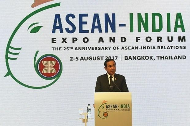 Le Vietnam etait en Thailande pour le Forum et Exposition de l'ASEAN-Inde 2017 hinh anh 1