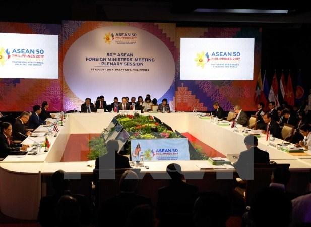 L'ASEAN et la Chine approuvent officiellement le projet-cadre du COC hinh anh 1