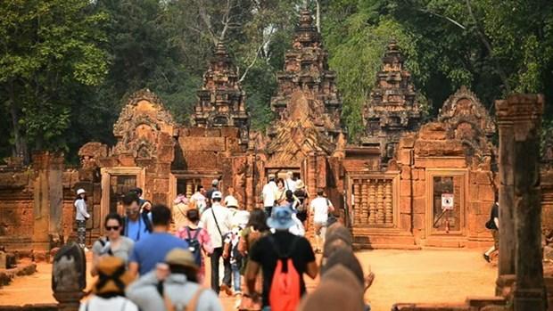 Croissance du nombre de touristes chinois au Cambodge hinh anh 1
