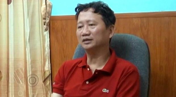 Decision de placement en detention provisoire de Trinh Xuan Thanh hinh anh 1