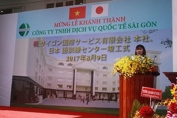 Inauguration d'un centre d'enseignement du japonais hinh anh 1
