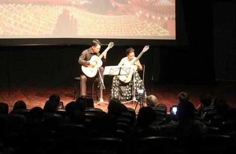 Concert de guitare La danse orientale a Hanoi hinh anh 2
