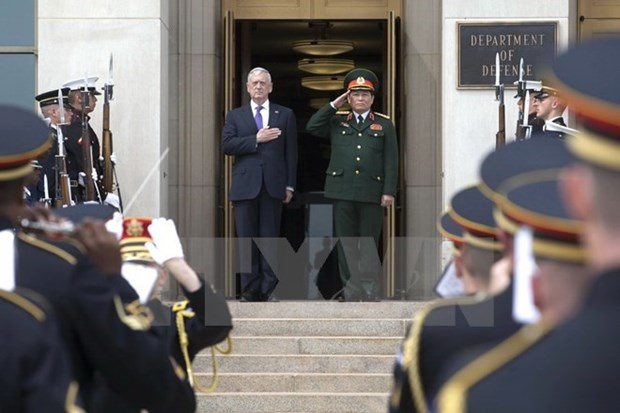 La defense, secteur de cooperation majeur du partenariat integral Vietnam - Etats-Unis hinh anh 1