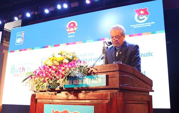 Le Vietnam celebre la Journee internationale de la Jeunesse hinh anh 1