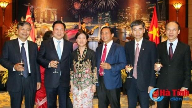 Le 52eme anniversaire de la Fete nationale de Singapour celebre a Hanoi hinh anh 1