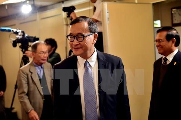 La cour cambodgienne maintient la sentence contre Sam Rainsy hinh anh 1