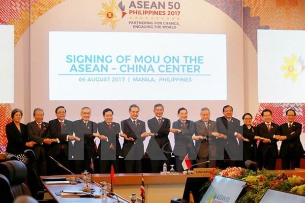 Promotion des potentiels de cooperation dans le commerce et l'investissement ASEAN-Chine hinh anh 1