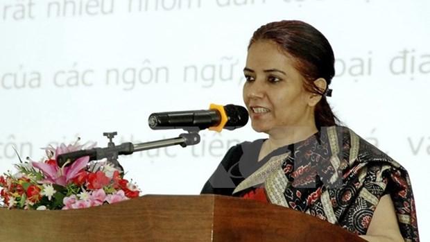 Celebration de la journee de l'Independance de l'Inde a Ho Chi Minh-Ville hinh anh 1