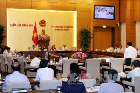 Le comite permanent de l'Assemblee nationale donne son avis sur deux projets de loi hinh anh 1