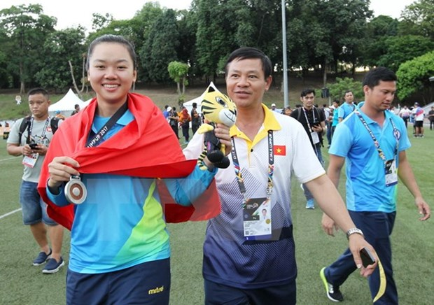 Premiere medaille vietnamienne aux SEA Games 29 hinh anh 1
