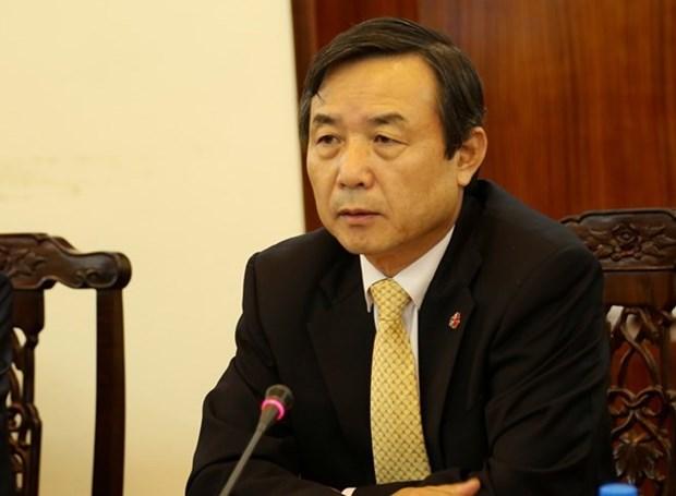 Le ministre conseiller et consul general sud-coreen au Vietnam en l'honneur hinh anh 1
