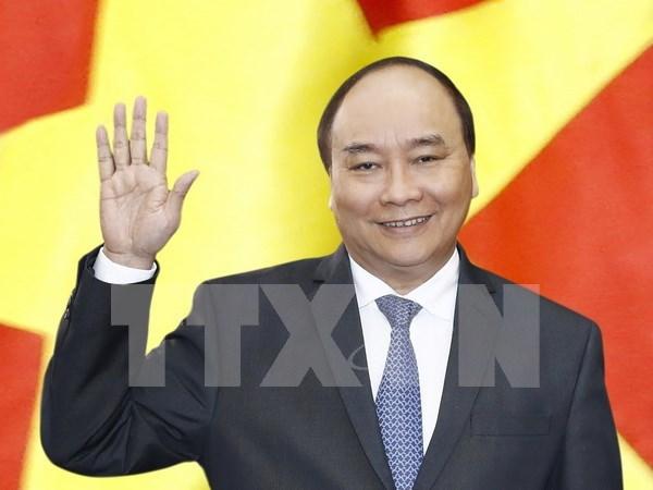 Le Premier ministre Nguyen Xuan Phuc part pour la Thailande hinh anh 1