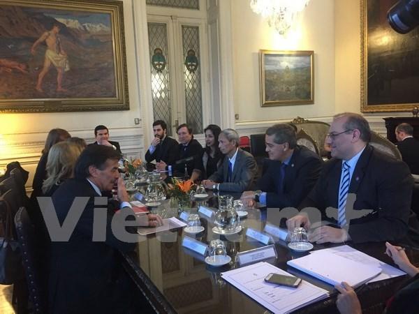 Naissance du groupe des parlementaires d'amitie Argentine-Vietnam hinh anh 1