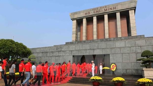 Le mausolee du President Ho Chi Minh fermera ses portes pour ses travaux d'entretien annuel hinh anh 1