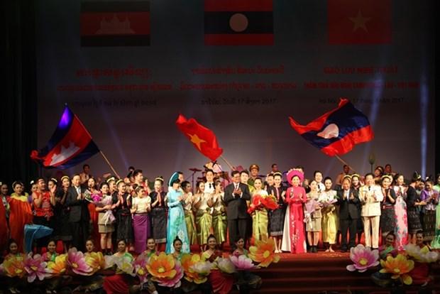 Vietnam-Laos-Cambodge : echanges artistiques d'amitie hinh anh 1