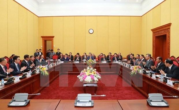 Vietnam, Laos et Cambodge renforcent la cooperation en matiere de securite hinh anh 1