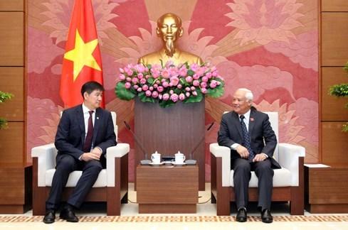 Le secretaire general de l'Assemblee nationale mongole au Vietnam hinh anh 1