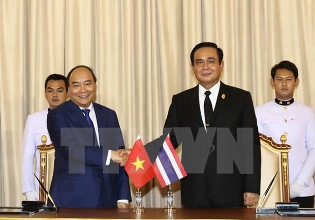 Declaration commune Vietnam-Thailande hinh anh 1