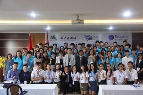 Programme d'echange entre etudiants du Vietnam et de la Republique de Coree hinh anh 1