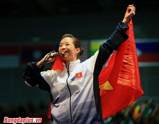 SEA Games: le Vietnam remporte ses deux premiers medailles d'or hinh anh 1