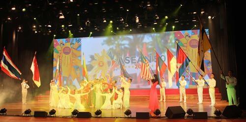 Festival artistique de chants, de danse et de musique de l'ASEAN a Vinh Phuc hinh anh 1