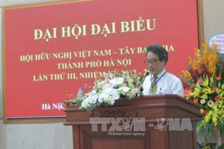 Congres de l'Association d'amitie Vietnam-Espagne de Hanoi hinh anh 1