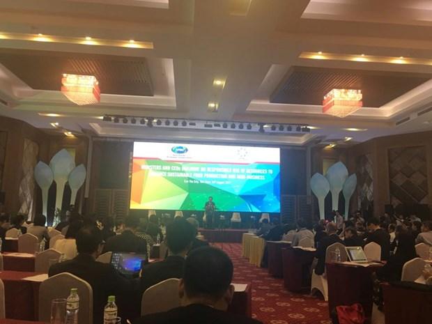 L'APEC discute de l'utilisation avec responsabilite des ressources hinh anh 1