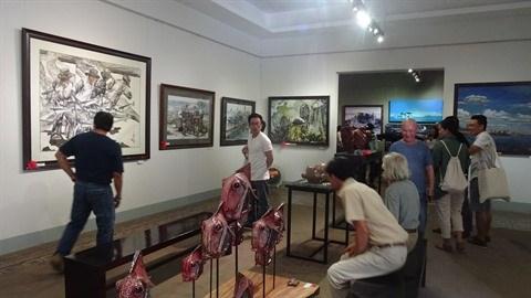 Grande exposition au Musee des beaux-arts de Ho Chi Minh-Ville hinh anh 1