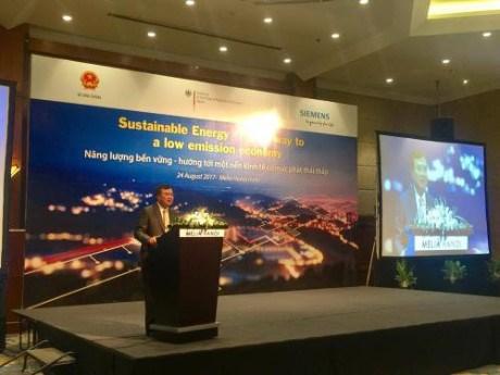 Vietnam-Allemagne : perspectives de cooperation dans l'energie durable hinh anh 1