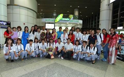 SEA Games 29 : les Viet kieu de tout cœur aux cotes des sportifs vietnamiens hinh anh 2