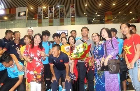 SEA Games 29 : les Viet kieu de tout cœur aux cotes des sportifs vietnamiens hinh anh 1