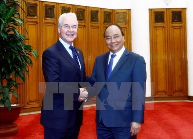 Sante : le chef du gouvernement applaudit la cooperation Vietnam - Etats-Unis hinh anh 1