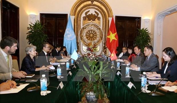 Le Vietnam espere resserrer les liens avec l'UNESCO hinh anh 1