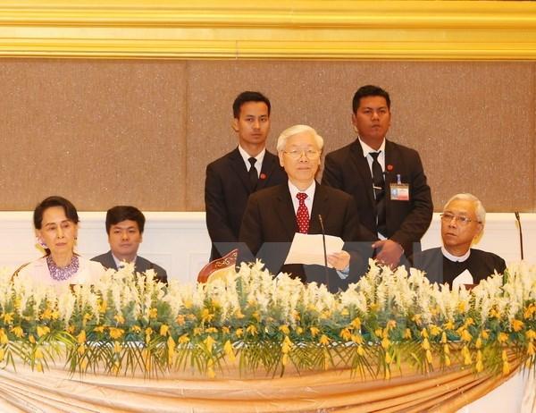Declaration commune Vietnam-Myanmar hinh anh 1