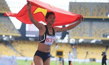 SEA Games 29 : et de 15 pour l'athletisme vietnamien ! hinh anh 1