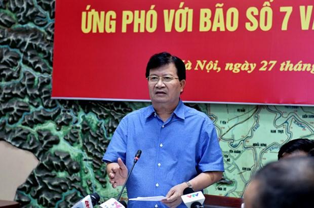 Le Vietnam se prepare a l'arrivee du typhon Pakhar hinh anh 1