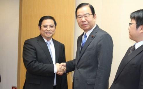 Vietnam-Japon : renforcement des relations entre les Partis communistes hinh anh 1