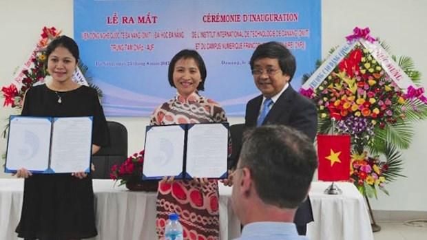 Ouverture de l'Institut international des Technologies de Da Nang hinh anh 1
