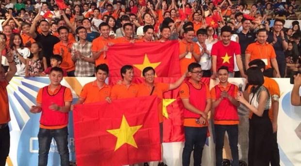 Le Vietnam remporte le Robocon d'Asie-Pacifique 2017 hinh anh 1