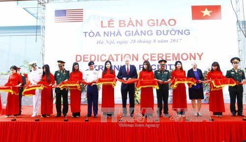 Aides americaines pour le Centre de maintien de la paix du Vietnam hinh anh 1
