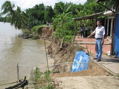 Le delta du Mekong sous le feu de l'erosion hinh anh 1