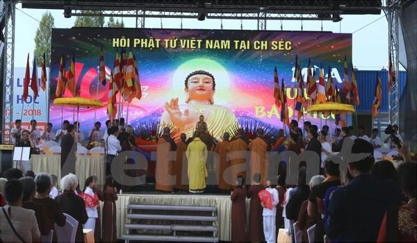 L'Association des bouddhistes vietnamiens en R.tcheque fete son anniversaire hinh anh 1