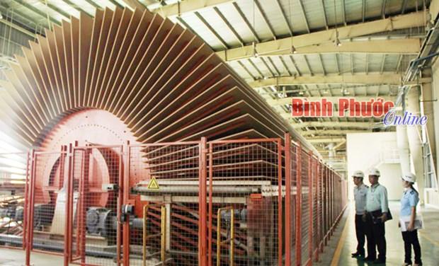 Binh Phuoc: mise en service de la plus grande usine de panneaux MDF d'Asie hinh anh 1