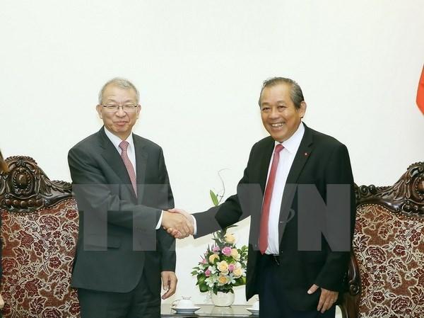 Vietnam-R. de Coree : entretien entre les presidents de la Cour supreme hinh anh 1