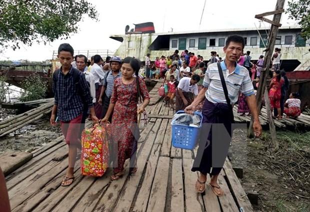 Myanmar : le gouvernement appelle a la cooperation pour la paix au Rakhine hinh anh 1