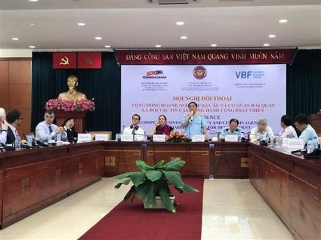 Le secteur douanier du Vietnam dialogue avec des entreprises europeennes a Ho Chi Minh-Ville hinh anh 1